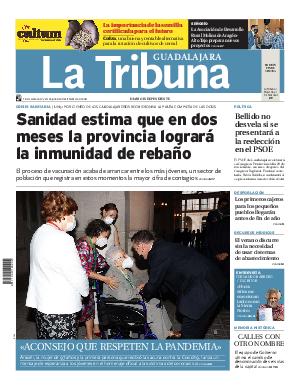 Portada La Tribuna de Guadalajara